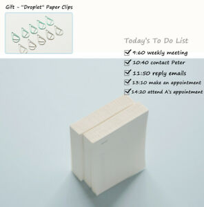 To Do List Notebook Inner Pages Planner Filler Paper School Supply 20 Packs