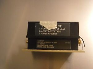 Mini circtuis Zhl 3010 50 To 1000 Mhz 5 5 Db Sma f Low Noise Amplifier