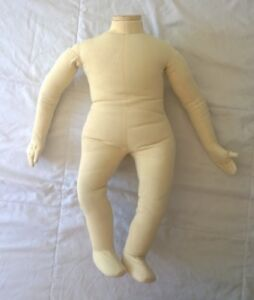 Vintage E s p Design Display Baby Maple Articulating Baby Mannequin