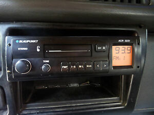 Vintage Blaupunkt Acr 3231 Car Radio Tested Working