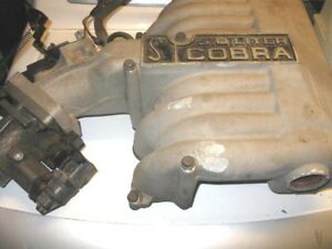 1994 1995 Ford Mustang Cobra Upper And Lower Intake Manifold Gt40 302 5 0