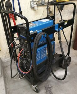2016 Miller Dynasty 280dx Tig Welder Cps Cart Cooler in Miller Warranty