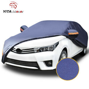 Yitamotor All Weather Car Cover Waterproof Universal Fit Sedan Length Up To 192
