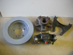 Dexter 225 Disc Brake Caliper 5 X 4 5 Hub 10 Rotor 4 bolt Bracket 3 5k Kit Nos