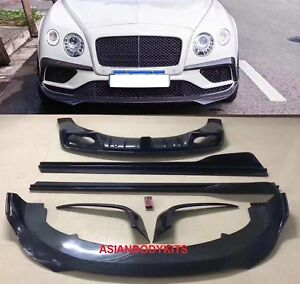 Carbon Body Kit For Bentley Continental Gt V8 2016 2017 Facelift Model Only