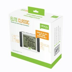 Efergy Elite Classic 4 0 Wireless Home Energy Monitor Electricity Smart Meter