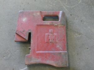 Ih 100 Lb Front Tractor Suitcase Weight Part r333393r1 Tag 272