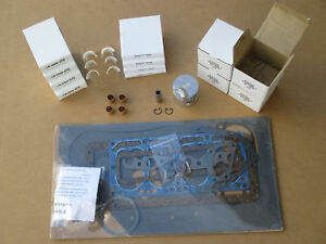 Major Overhaul Kit For Ih International 154 Cub Lo boy 184 185