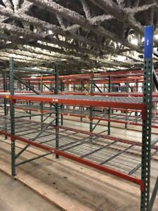 Pallet Racks Racking Shelves Storage Warehouse Heavy Duty 90 hx8 lx30 deep