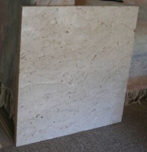 Granite Beige Slab Table Top With Tri seal Protection 25 Square X 7 8 Thick