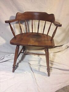 Chair Solid Oak Antique See12pix4size Details Virginia Local Pickup Make Offer