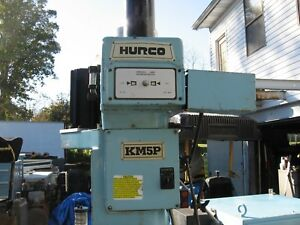 Hurco Km 5p 3 Axis Cnc Vertical Mill Milling Machine Ultimax Control