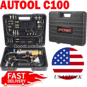 Autool C100 Non dismantle Injector Cleaner Tester Fuel System For Petrol Cars