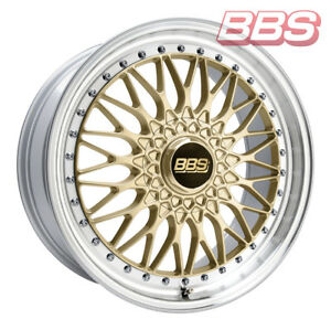 Bbs Wheels Super Rs 8 5x20 Et45 5x112 Goldfp For Audi A3 A6 A8 Tt