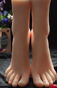 Silicone Foot Mannequin Female Model Shoes Display 3701 A592