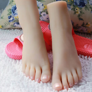Female Silicone Foot Model mannequin Display Shoes 3501 A591