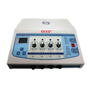 Acco Physiotherapy Pain Reliving Electrotherapy Machine 4 Channel Tn03b