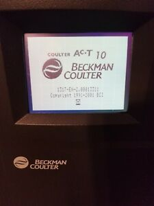 Beckman Coulter Ac T Diff Hematology Analyzer