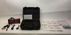 As Is Snap On Tools Mtg2500 Color Graphing Diagnostic Scanner Kit W Extras