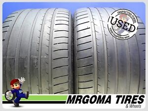 2 Dunlop Sp Sport Maxx Gt Mo Xl 295 30 20 Used Tires No Patch Mercedes 2953020