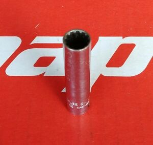 Snap On Tools 1 4 Drive 10 5 16 Deep Spline Socket Tel10 Ships Free