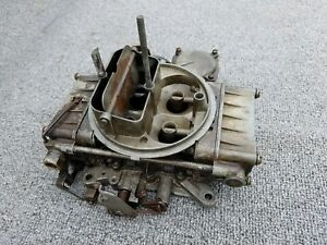 1957 Ford Holley List 1273 1 Ecz Ad Carb Date Code 734
