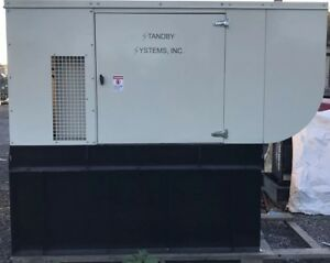 40 Kw Diesel Generator Perkins F3955 Single Or Three Phase 120 240 480 Aa35070