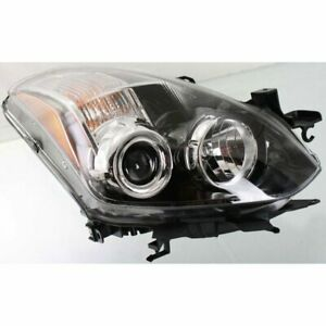 Headlight For 2010 2013 Nissan Altima Coupe Right 2 Door Coupe Clear Lens