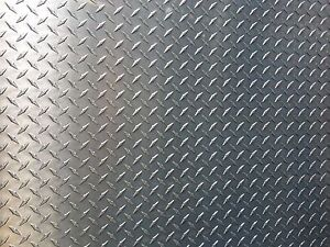 1 4 250 Steel Diamond Tread Plate 12 X 24