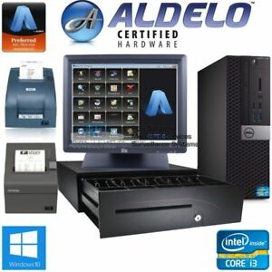 Aldelo Restaurant bar Pos System Support Training Included W kitchen Printer