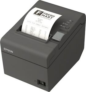 New Epson Tm t20ii Thermal Receipt Printer Mpos Edg Serial And Usb Interface