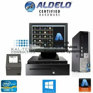 Aldelo 2018 Pro Pizza Restaurant Bar Bakery Complete Value Pos System I3 4gb New