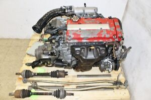 Jdm 96 97 Acura Integra Type R B18c Dohc Vtec Engine 5 Speed Lsd Trans S80 1 8l