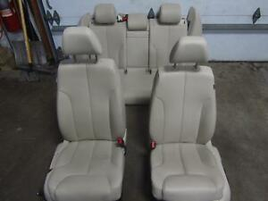 09 10 Volkswagen Vw Passat Leather Seat Seats Front Back Rear Complete Heated
