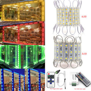 Remote+ Bright 10FT~100FT 50505054 SMD 36 LED Module STORE FRONT Window Light