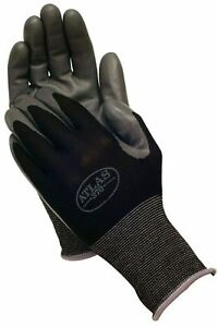 12 Pack Small Showa Atlas 370 Nitrile Black Garden Work Gloves New W tag f1