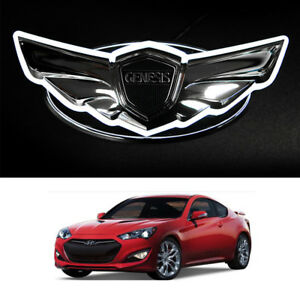 Led Emblem 2way White Red 145mm 1pc For Hyundai Genesis Coupe 2009 2017