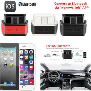 Obd2 Obdii Bluetooth Car Scanner Code Reader Diagnostic Interface Tool Fr Iphone