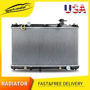 2437 Radiator For 02 06 Toyota Fits Camry Base Le Se Xle 2 4l L4 A t Us Aluminum
