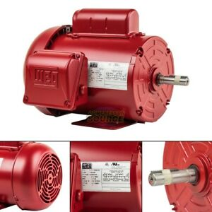 3 4 Hp Farm Duty Electric Motor 56 Frame 1745 Rpm Single Phase Tefc Weg New