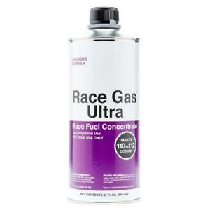 Race Gas Fuel Additive 200032 Race Gas Ultra 32 Oz Octane Booster 112 Max