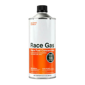 Race Gas Fuel Additive 100032 Race Fuel Concentrate 32oz Octane Booster 105 Max