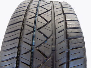 Used P225 40r18 92 Y 7 32nds Continental Surecontact Rx