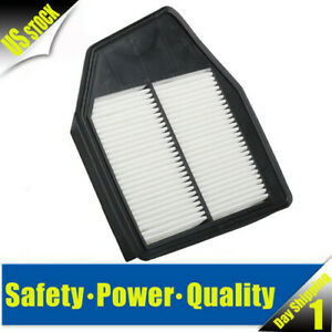 New Engine Air Filter Fit For 08 12 Honda Accord 12 15 Honda Crosstour L4 2 4l