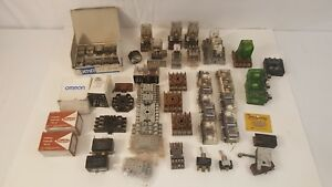 Serviceman Relay Estate Lot Ice Cube Safety Relays Bases Other Misc Omron
