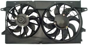 Fits 1995 1998 Ford Windstar Dual Engine Cooling Fan Assembly Wo Controller