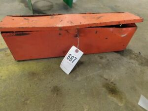 Allis chalmers 210 220 Tractor Tool Box Tag 667