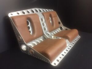 Bomber Style Bench Seat For Rat Rod Street Rod With Matching Door Panels