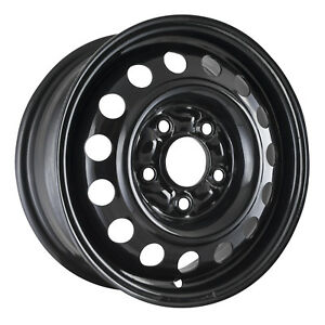 Reconditioned 14x5 5 Black Steel Wheel For 1994 1996 Eagle Summit 560 65741