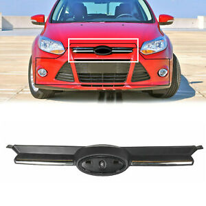 Front Grille Grill Chrome Fits Ford Focus 2012 2014 Bm5z8200a